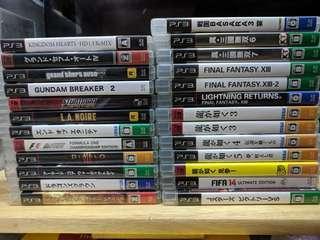 PS3 Games 二手散賣