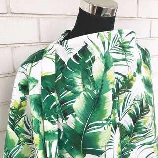 Green Leaves Nursing Cover