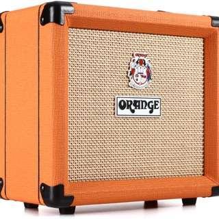 """Orange Crush 12 - 12-watt 1x6"""" Combo Guitar Amp #3x100"""