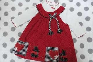 Long Sleeves Baby Dress