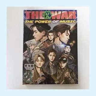 EXO THE WAR album repackage