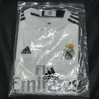 18/19 Real Madrid Home Jersey