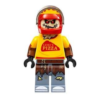Lego 70910 Scarecrow Special Delivery - Scarecrow Pizza Delivery Outfit Minifigure