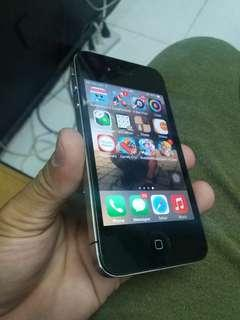 IPHONE 4 16GB BLK FACTORY UNLOCK