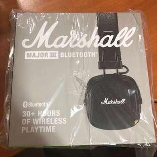 Marshall Major III BT Black