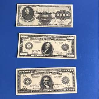 USA Souvenir Bookmark (Set of 3)