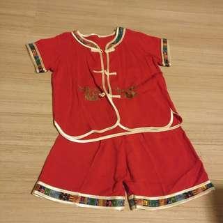 Boy chinese costume