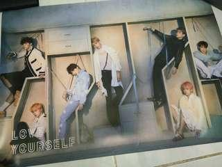 BTS Love Yourself Answer E version poster