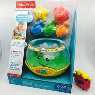 ~Ready Stocked~ Fisher-Price Laugh & Learn Magical Lights Fishbowl
