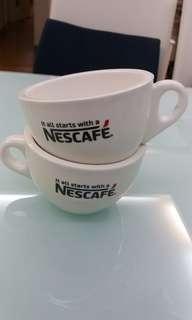 Nescafe coffee / milk cups