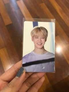 (WTS) BTS memories 2017 jimin photocard