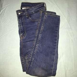 H&M Highwaisted Skinny Jeans #subangjayaswap