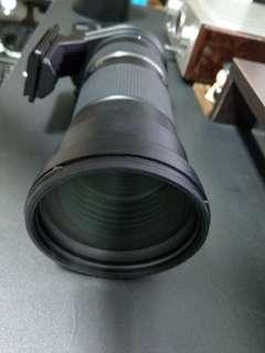 Tamron so 150-600 for canon