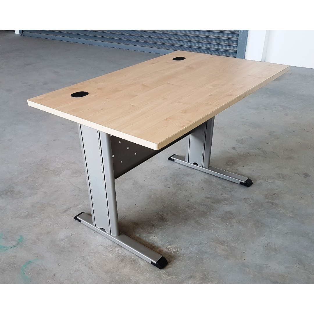 Office Tables With Metal Frame Legs For Sale