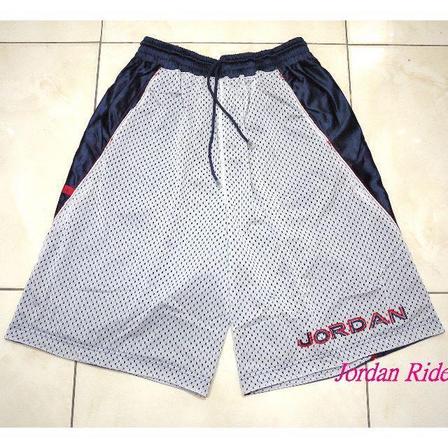 喬丹騎士 NIKE Air Jordan XVIII 雙面穿 籃球褲 深藍 白 紅 AJ 18代 巫師 主場 客場 12 13