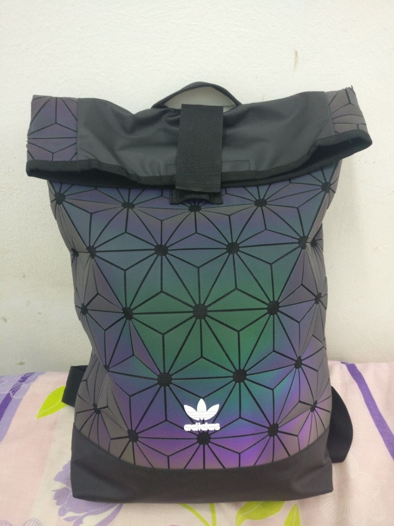cb704f6e871 Adidas Backpack 3D transition color, Men's Fashion, Bags & Wallets ...