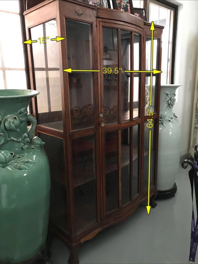 Antique China Cabinet More Than 50