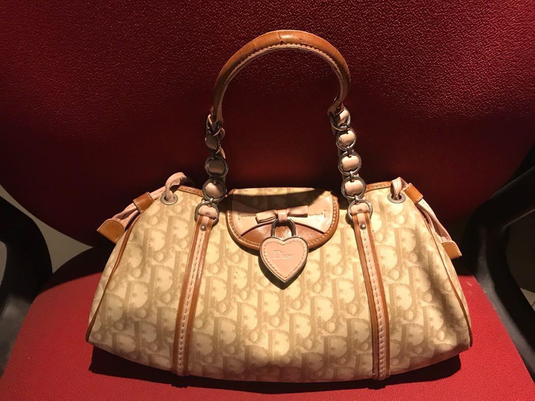 78484dcb3430 💯Authentic Christian Dior Oblique Romantic Monogram Bag