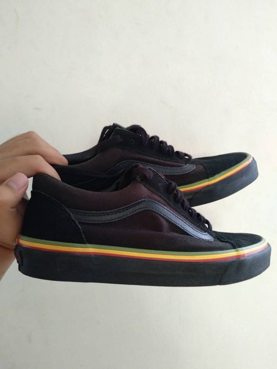 AUTHENTIC  Vans Old Skool Rasta Edition  3x100 e7768d4c4