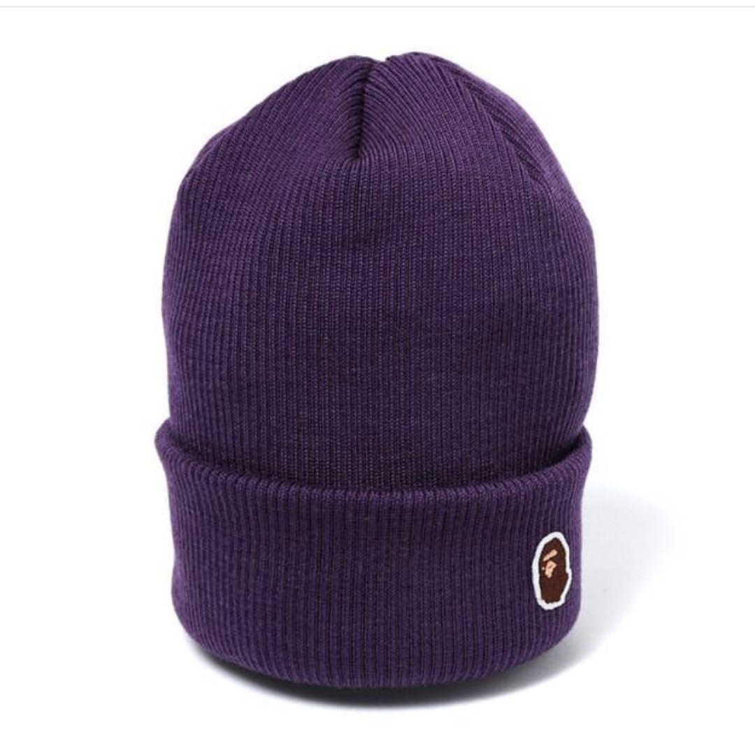 74cc45203e8 BAPE Ape Head Point Knit Cap