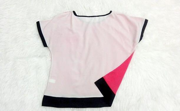 Blouse atmosphere pink fanta