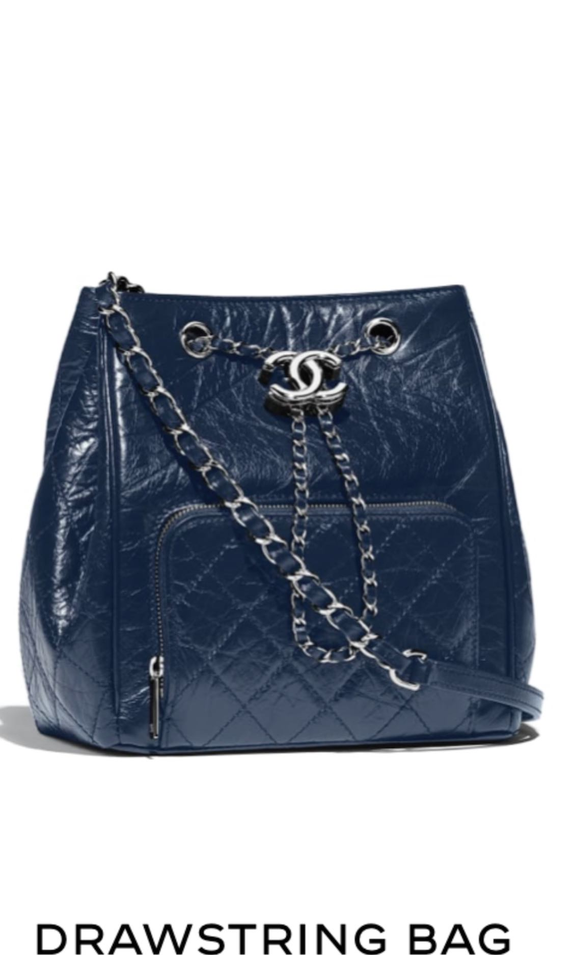 44ca76a6cce5 BN Chanel Drawstring Bag