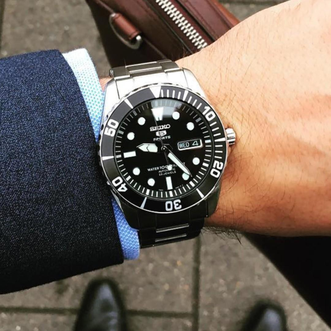 factory authentic 44fcc 2e265 BNIB] Seiko Automatic Divers 23 Jewels 100m Made in Japan ...