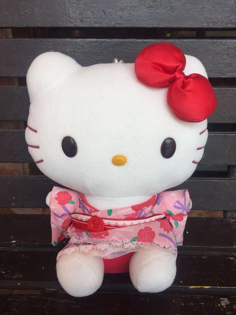 Boneka Hello Kitty Original Sanrio Toys Collectibles Mainan Di