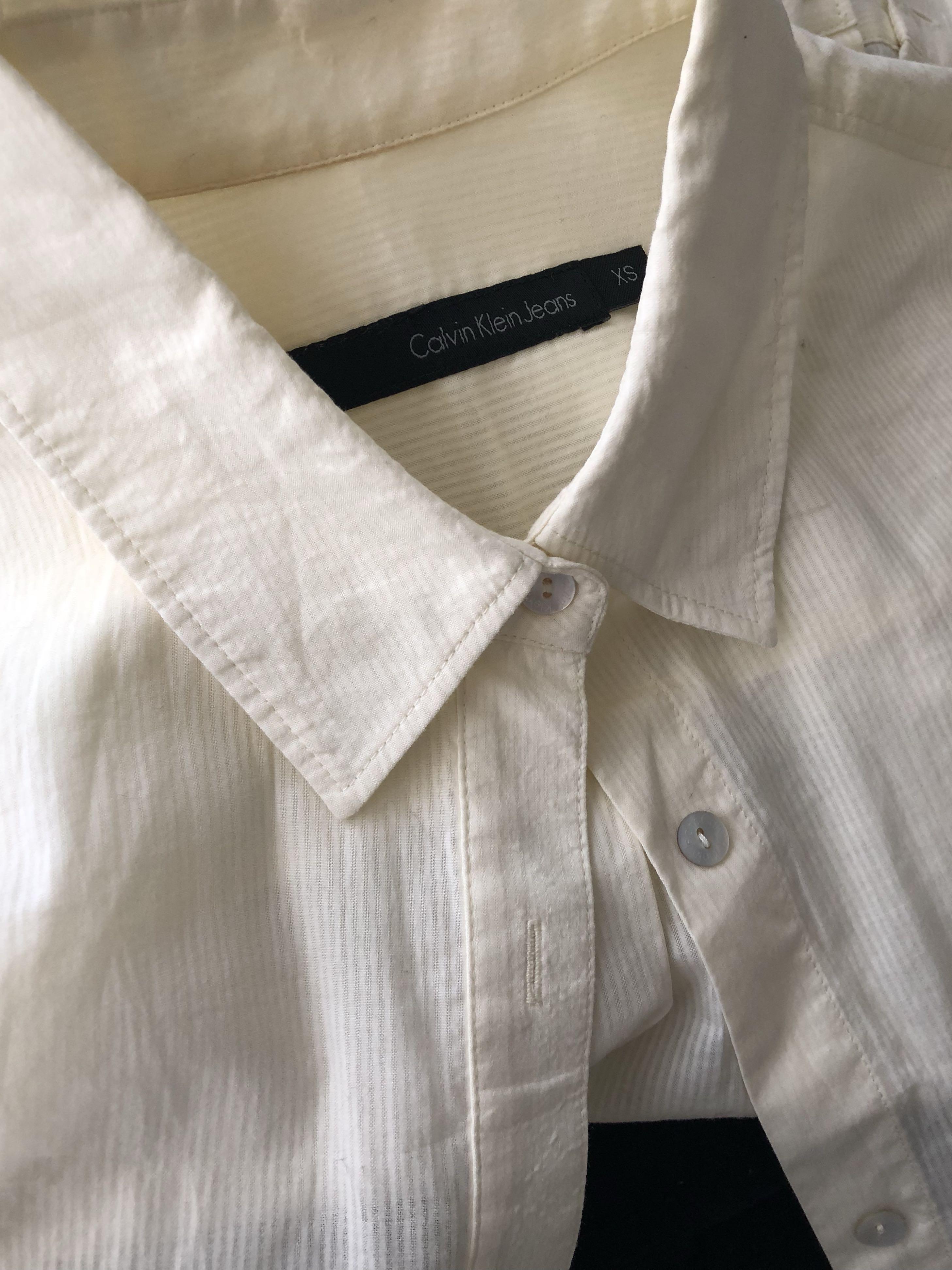 Calvin Klein boyfriend shirt