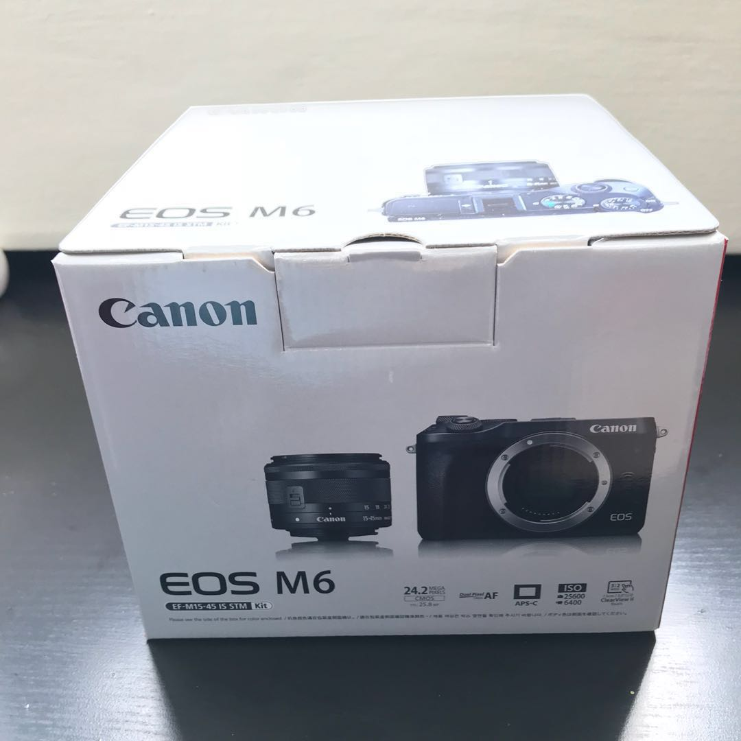 Canon Eos M6 Photography Video Equipment On Carousell Zhiyun Z1 Crane Ver 20 3 Axis Stabilizer For Mirrorless Camera