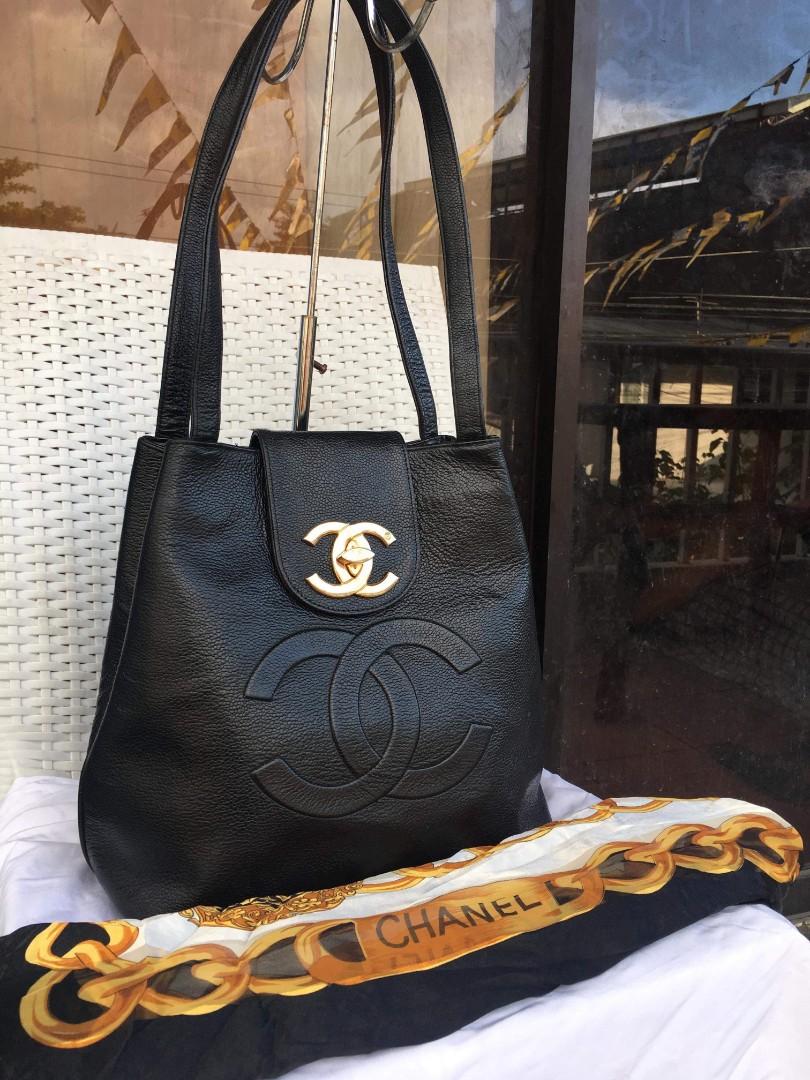 13e91f659a4c7 Chanel Vintage Tote Bag