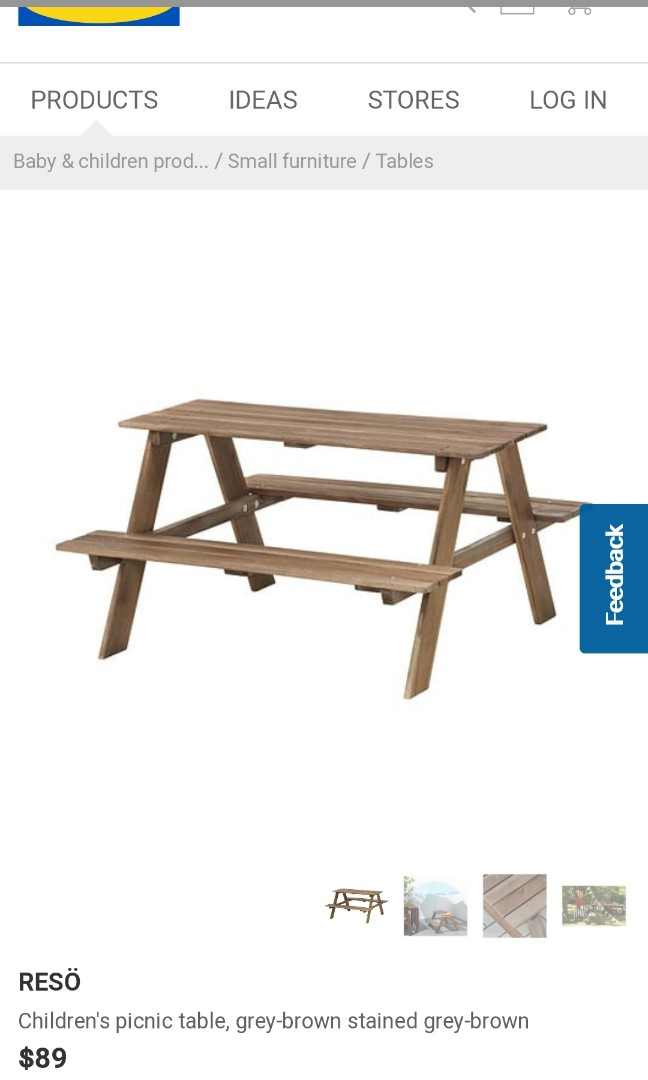 Awe Inspiring Childrens Picnic Table Price Reduced Download Free Architecture Designs Scobabritishbridgeorg