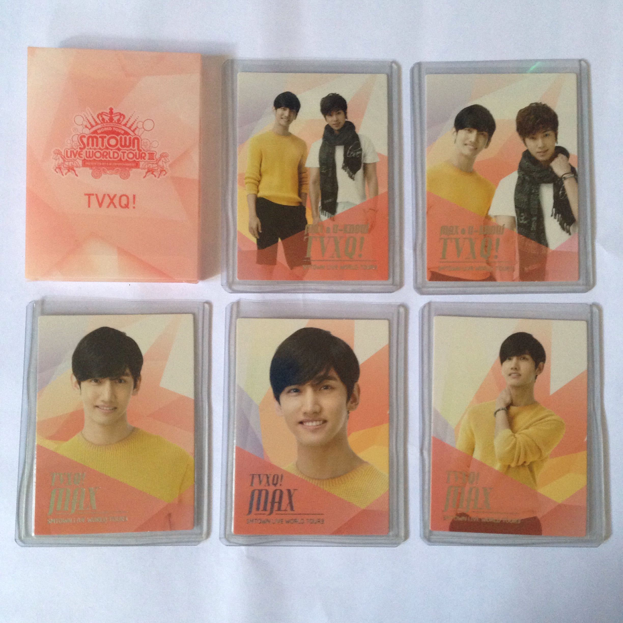 DBSK TVXQ official photocard photo card with case smtown  midsep50 ... 475155844dee