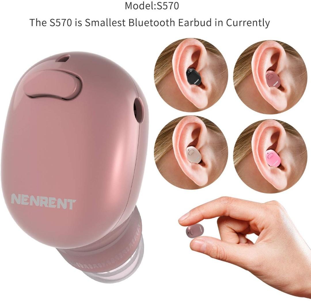 9ad39cb9a6e E280) NENRENT S570 Bluetooth Earbuds,Smallest Mini V4.1 Wireless ...