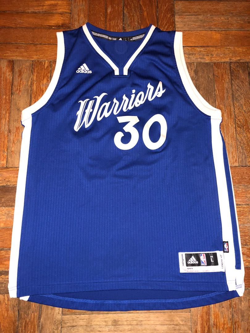 competitive price fa7f8 927fc Golden State Warriors Stephen Curry 2015 Christmas Jersey L