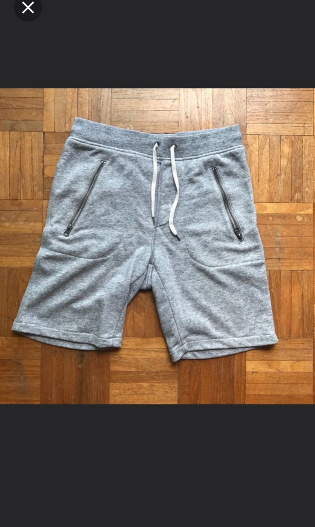 e4506501f8 H&m sweat shorts, Men's Fashion, Clothes, Bottoms on Carousell