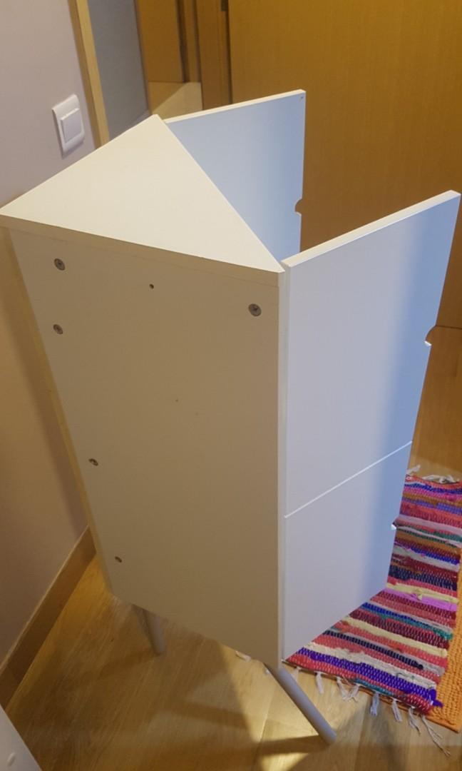 Ikea corner cabinet/shelves (very good condition)