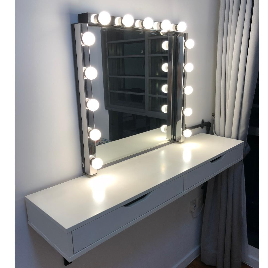 Dresser Mirror With Lights Ikea Bestdressers 2019