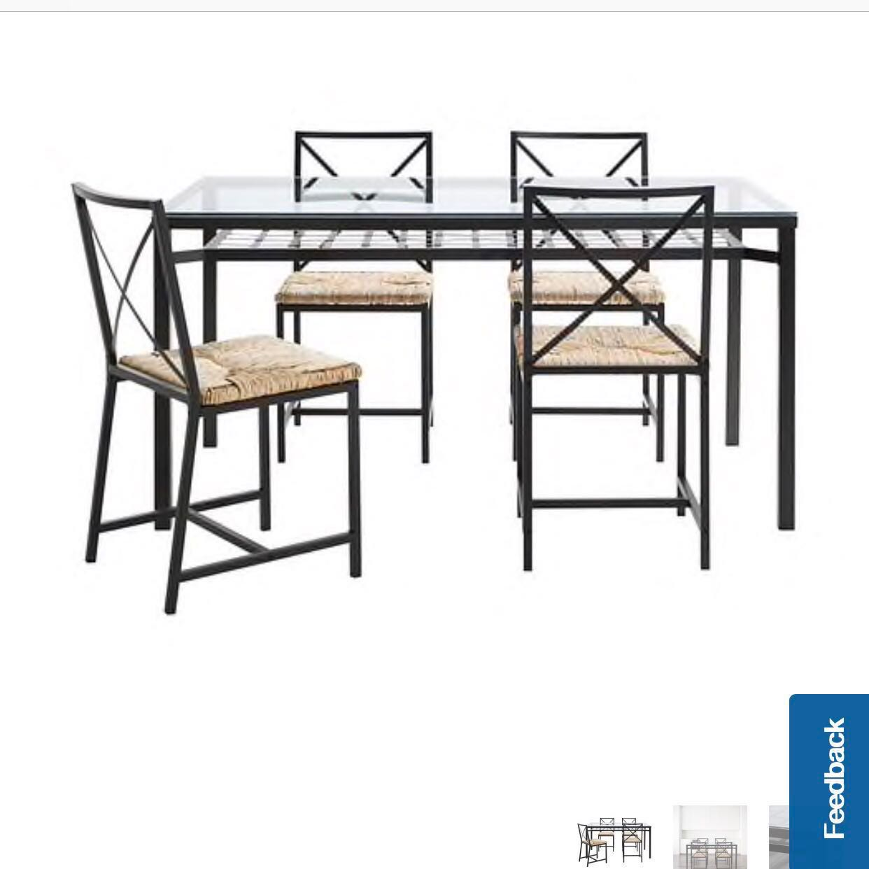 Ikea Granas Dining Table Set Clearance Furniture Tables Chairs On Carou