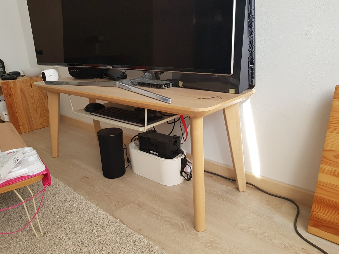 Ikea Lisabo Tv Console Furniture Tables Chairs On Carousell