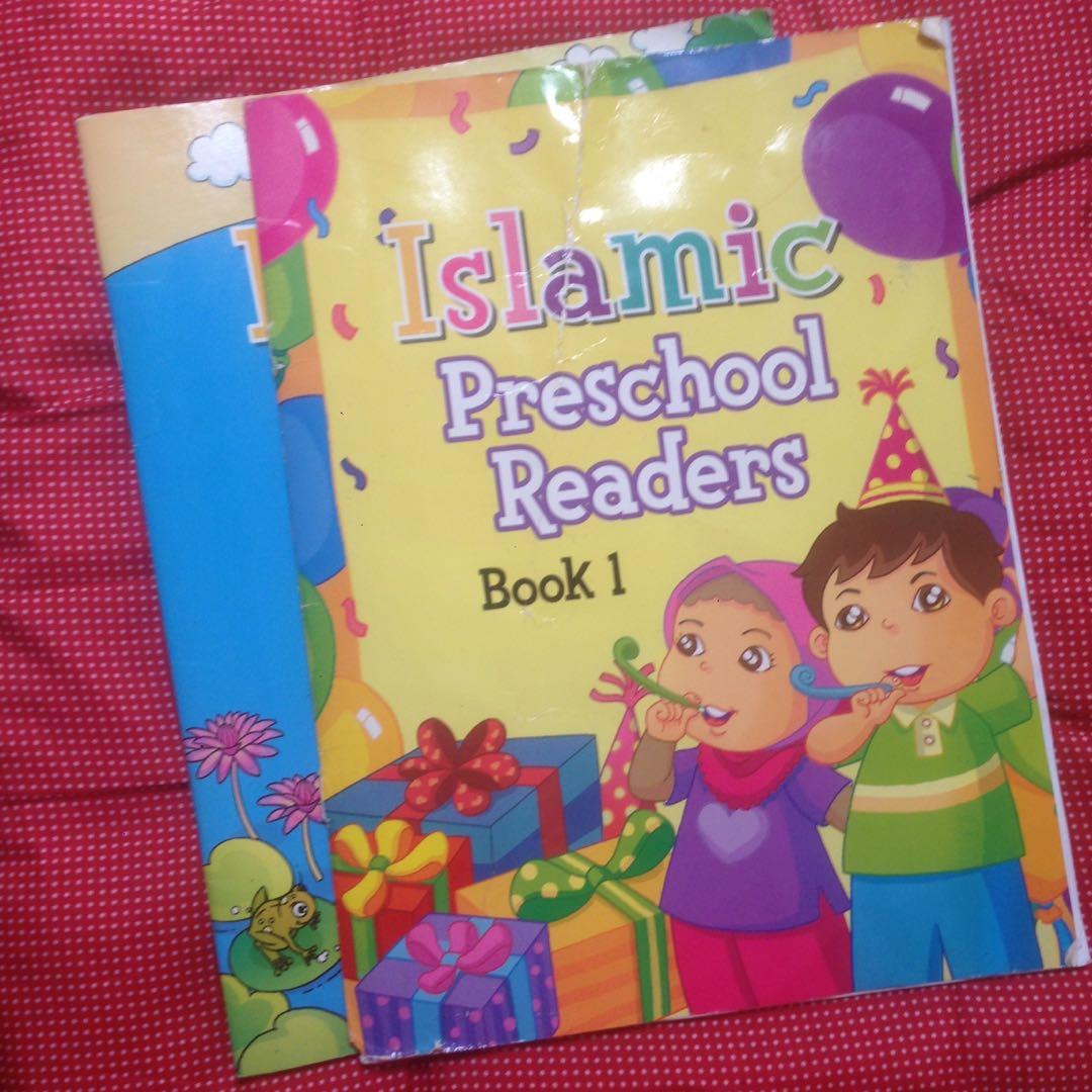 Islamic preschool reading book