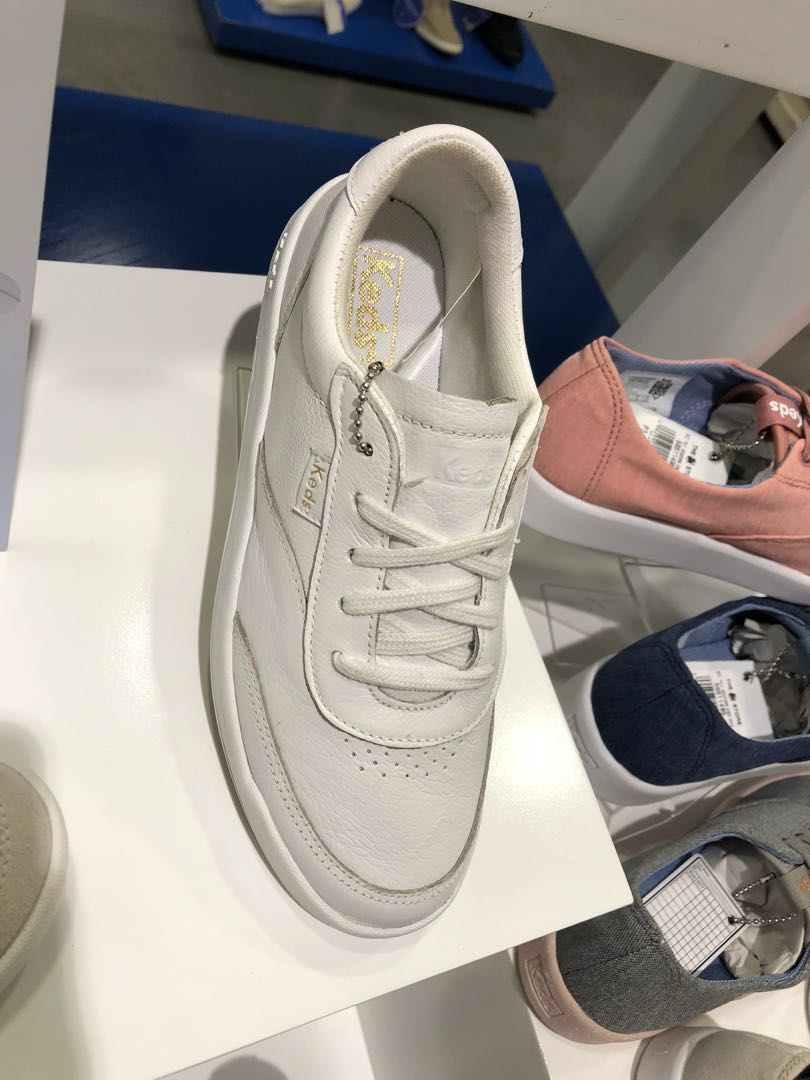 515b3b51d905 Keds Match Point Leather White
