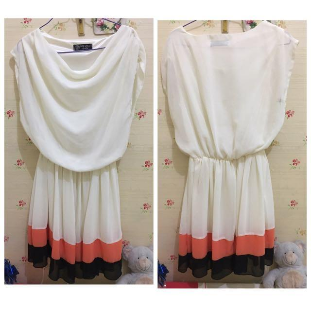 Knee dress / dress selutut size S to M