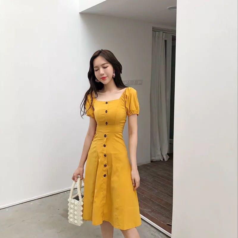 409ea47fcd korean ulzzang retro vintage style dress