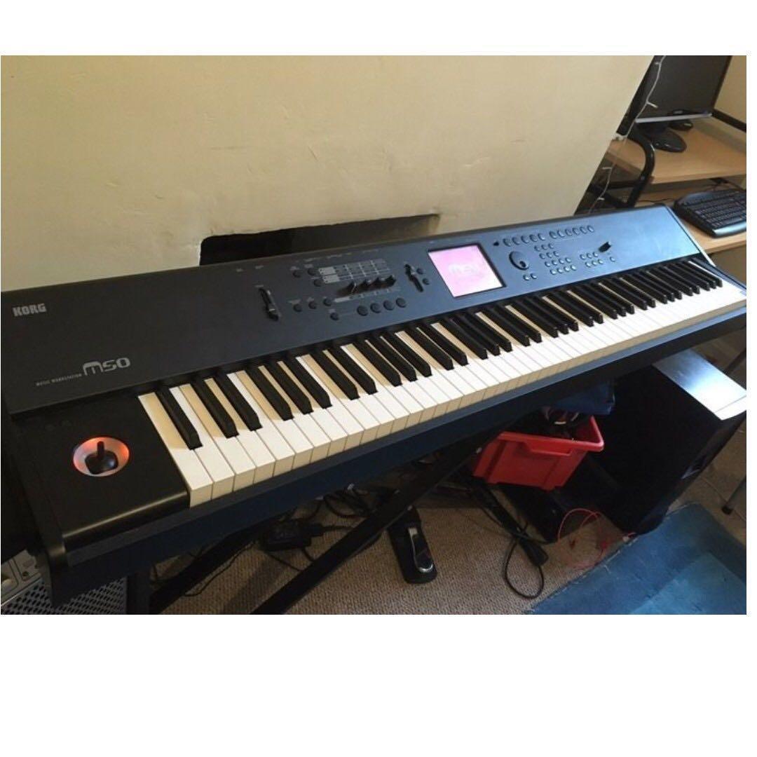 Korg M50 88 Keys Workstation with stand, Music & Media