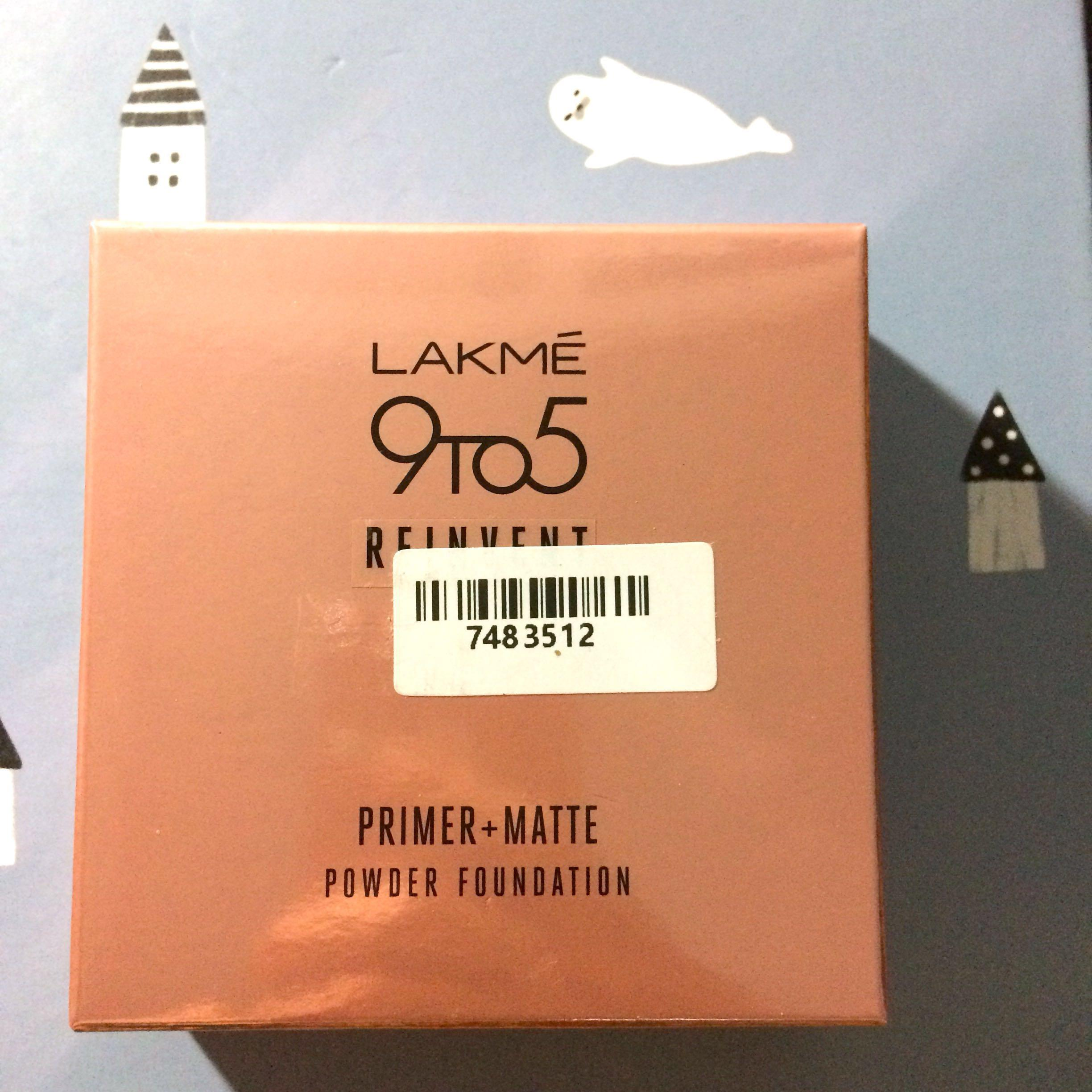Lakme 9TO5 Reinvent Primer + Matte Powder Foundation