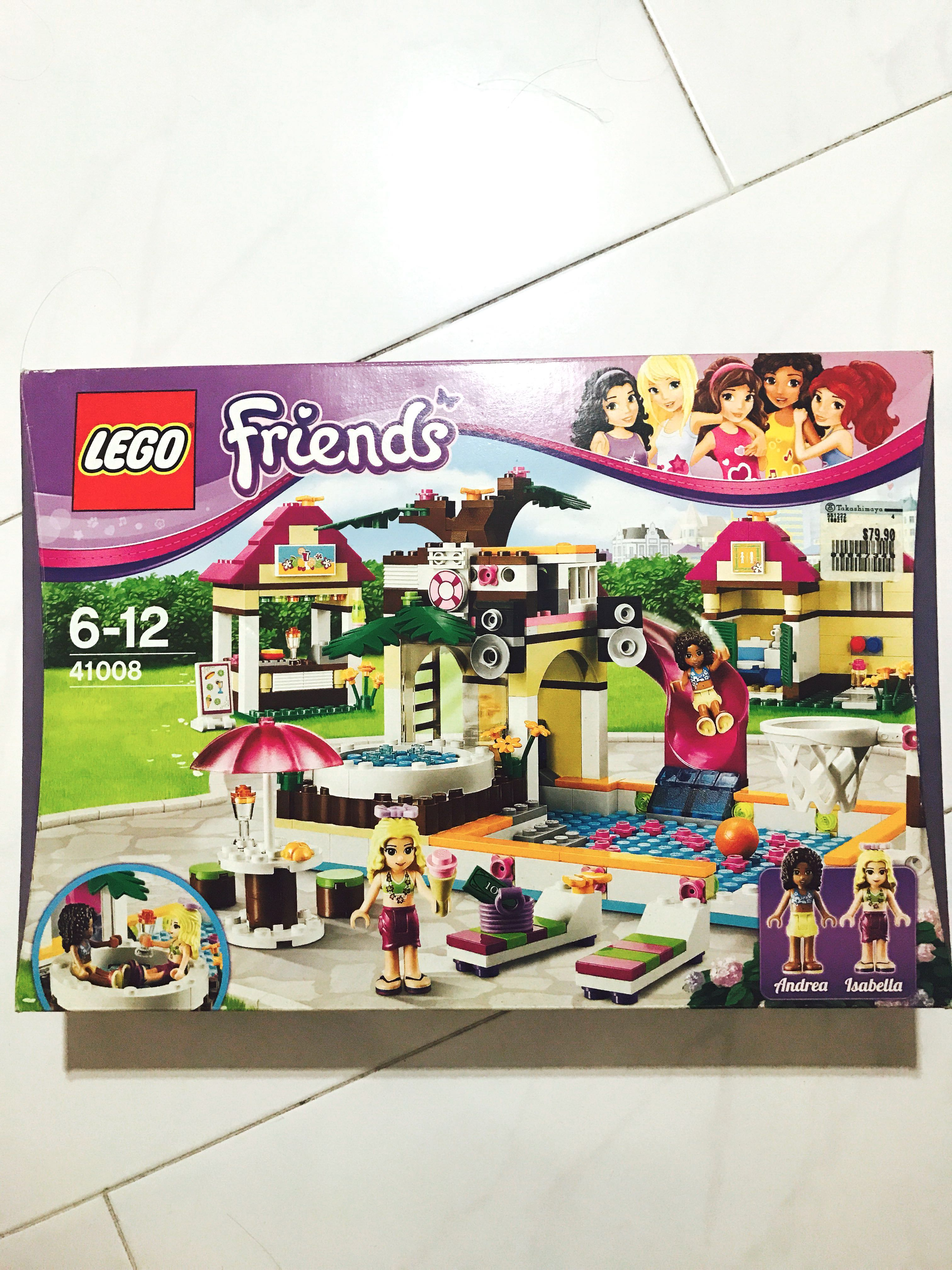 Lego Friends Andrea And Isabella Heartlake City Pool 41008 Toys