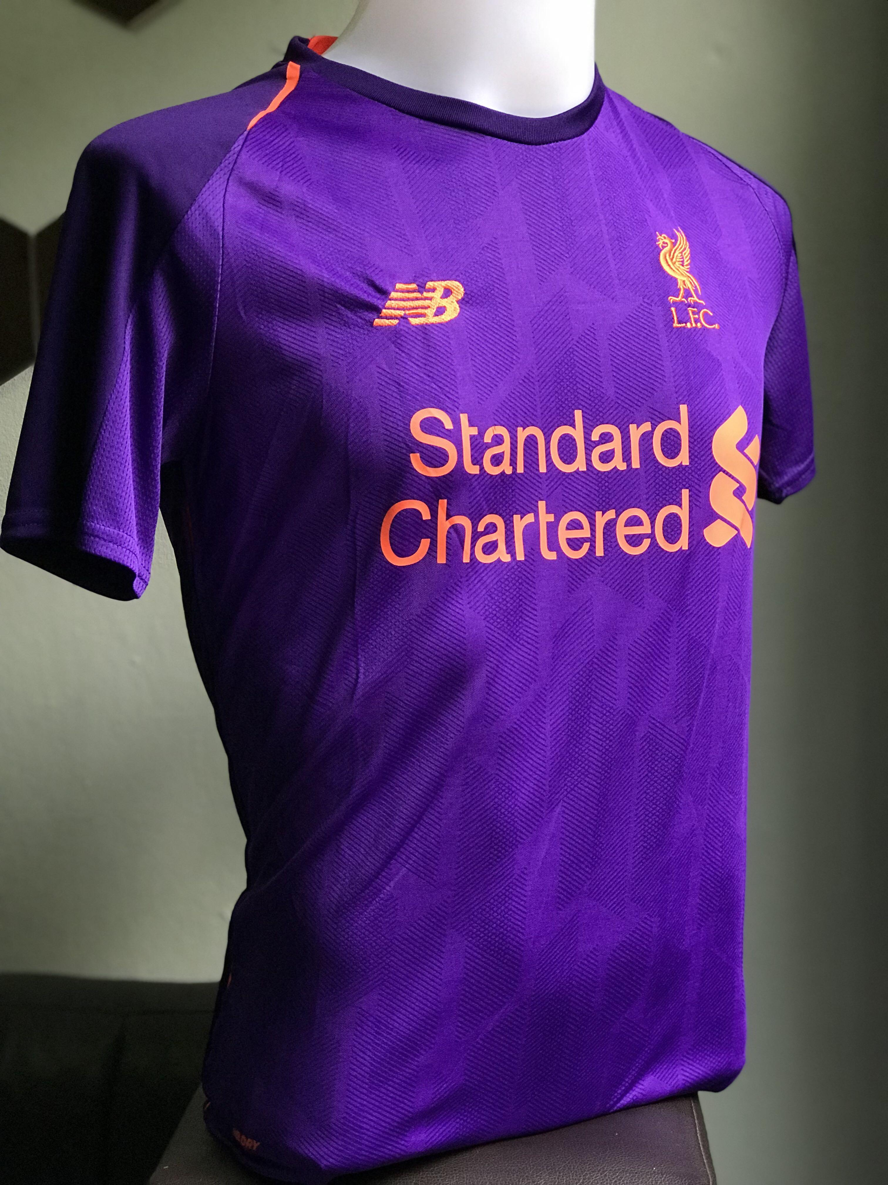 check out 11dfc 87c66 Liverpool FC Jersey 2018/19 away kits, Sports, Sports ...