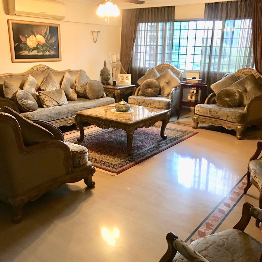 Living Room Set Furniture Sofas On Carousell