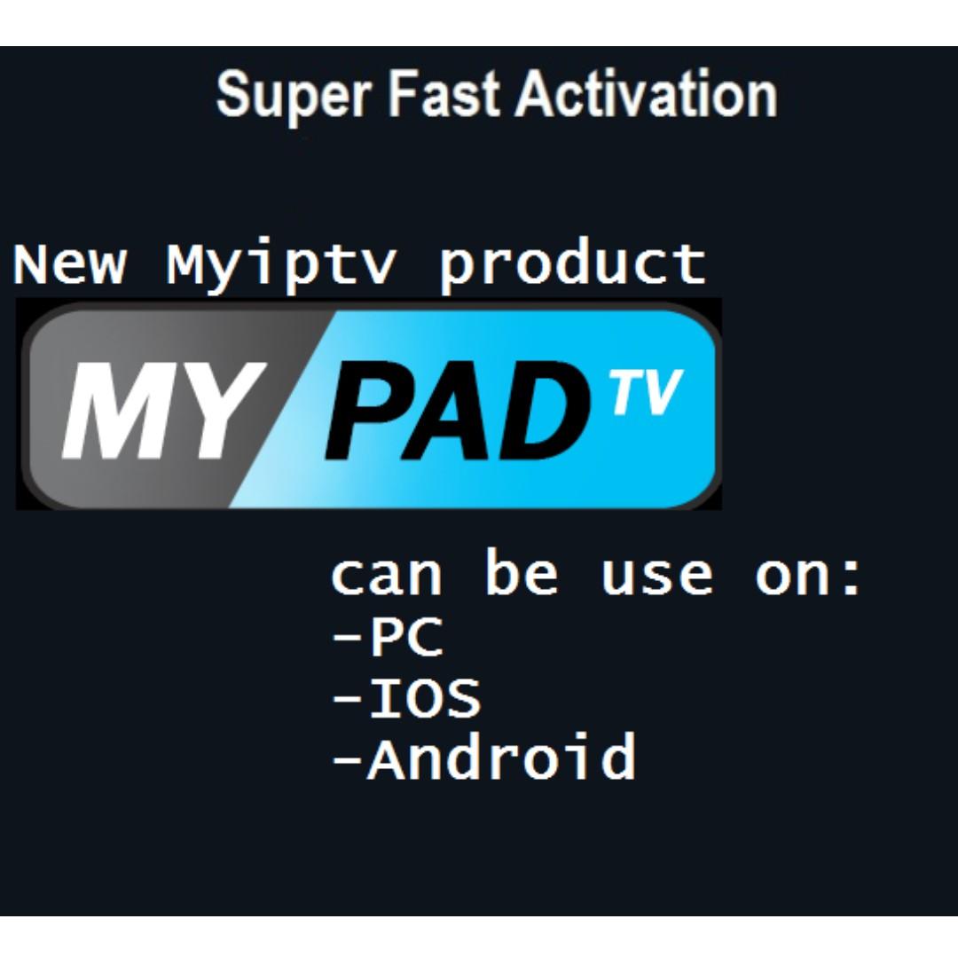 MYPADTV Subscription (Promo!)